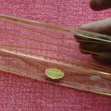 Vintage -- Tava de mici dimensiuni din sticla cristal  - Echt Kristal !!!!