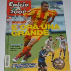 Revista fotbal CALCIO 2000 din anul 2005 (Italia, AS Roma, Inter, Juve, AC Milan, Bayern, etc.)