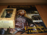1233.Figurina din plumb  - LOTR - FARAMIR at Osgiliath + revista scara 1:29