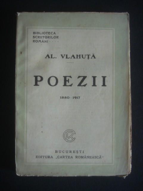 AL. VLAHUTA - POEZII {editie veche}