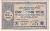 (11) BANCNOTA (NOTGELD) - GERMANIA - AACHEN - 1.000.000 MARK 1923 (20 IULIE 1923)