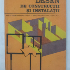 Desen de construcţii şi instalaţii, manual licee industriale de construcţii - Manual scolar Altele, Alte materii