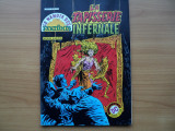 SUPER OFERTA !!! B.D. La tapisserie infernale -album de banda desenata horror in limba franceza , Marvel/Super Star1981 , pg.64. coperti cartonate