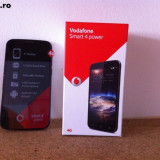 Smartphone Smart 4 Power Vodafone N985 - Telefon mobil Vodafone, Negru, 4GB, Single SIM, Quad core