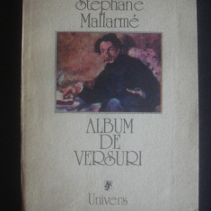 STEPHANE MALLARME - ALBUM DE VERSURI