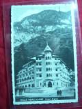 Ilustrata Baile Herculane -Hotel Cerna , circ. 1945 , cenzurata