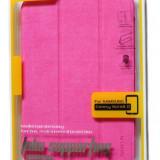 Husa FLIP BASEUS  Samsung GALAXY Tab 3  Note 8.0 3G(GT-N5100)/wifi(GT-N5110)Rose