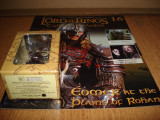Cumpara ieftin Figurina din plumb - LOTR - EOMER at the Plaines of Rohan + revista  1:29