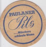 Suport de pahar / Biscuite PAULANER PILS