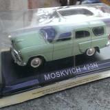 Macheta metal DeAgostini Moskvitch 423N +revista Masini de Legenda 48 - Macheta auto, 1:43