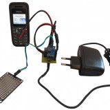 Senzor / detector de ploaie / apa / inundatie / nivel, cu apelare GSM  (cand detecteaza prezenta apei, te suna pe numarul tau de telefon) ARDUINO