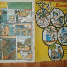 LUMINITA 1978 NR 10 - BD.UL :BUREBISTA - ILUSTRATII ION MIHAESCU - Revista scolara