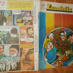 LUMINITA 1978 NR 12 - BD.UL :BUREBISTA - ILUSTRATII ION MIHAESCU - Revista scolara
