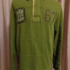 Tricou Polo Ralph Lauren 100% original - Tricou barbati Ralph Lauren, Marime: XL, XL, Maneca lunga, Khaki, Bumbac