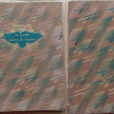 Ion Creanga, Amintiri din copilarie, editie pentru bibliofili, ilustrata cu 10 xilografii de Maria Manolescu Buteanu, 1932 - Carte de lux