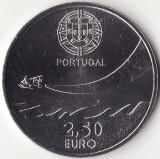 Moneda - Republica Portugheza - 2.50 Euro 2014 - A 100-a aniversare a Aviatiei Militare - Rara - Tiraj 75000