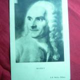 Ilustrata Personalitati - Pictor De La Tour  -portret de Restout ,interbelica