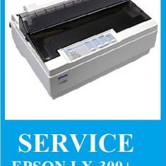 Reparatii/Intretinere/piese Imprimante matriciale Epson LX-300+, Epson LX-300+II - Imprimanta matriciala