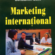 MARKETING INTERNATIONAL - Constantin Sasu - Curs marketing