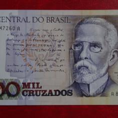 Bancnota straina - Brasil 1000 Mil Cruzados #537