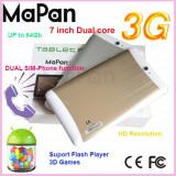 "Tableta cu functie telefon 7"" Dual Core, 7 inch, 4GB, Wi-Fi + 3G, Android"