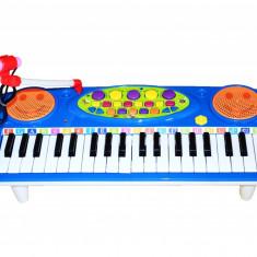 Oraga electronica pentru copii cu jocuri de lumini si microfon functional - Instrumente muzicale copii