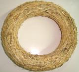 Coronita din paie, baza decor, diametru 20 cm