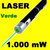 Laser Verde Pointer 1000mW raza 3 km - SUPER PRET! - Laser pointer