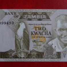 Bancnota straina - Zambia - 2 Kwacha