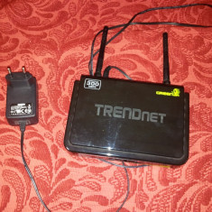 Router Trendnet wireless N 300mbps TEW-652BRP, Port USB, Porturi LAN: 4