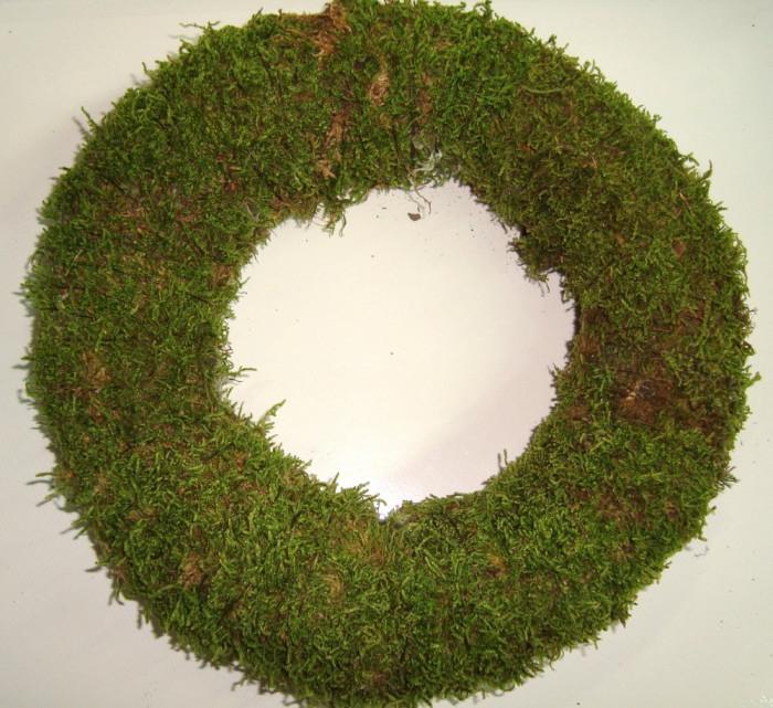 Coronita din muschi, baza decor, diametru 20 cm