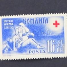 LP 151, crucea rosie - Timbre Romania, Nestampilat