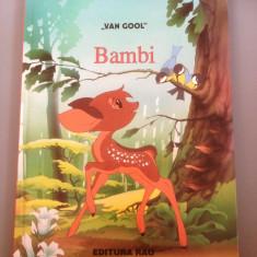 BAMBI - VAN GOOL, ed.RAO 1998 -produs ca NOU/CARTE - Istorie