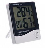 123123Ceas cu termometru si higrometru digital HTC-1