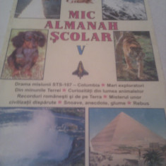 MIC ALMANAH SCOLAR 2002, 192 PAGINI - Carte educativa