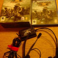 Vand Jocuri PS2 Activision, playstation 2, aventura pt copii SOCOM 2, US NAVY SEALS, jocuri rare, Actiune, 16+, Multiplayer