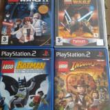 vand jocuri ps2,playstation 2 ,aventura pt copii ,SERIA LEGO ,jocuri rare