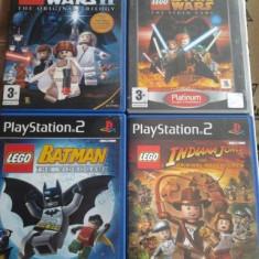 Vand Jocuri PS2 Activision, playstation 2, aventura pt copii, SERIA LEGO, jocuri rare, Actiune, 3+, Multiplayer