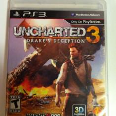 Vand Jocuri PS3 Ubisoft, playstation 3, aventura, actiune, sport, horror, UNCHARTED 3 DRAKES DECEPTION, 18+, Single player
