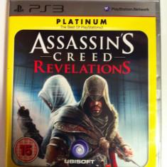 Vand Jocuri PS3 Ubisoft, playstation 3, aventura, actiune, sport, ASSASSINS CREED REVELATIONS, 18+, Single player