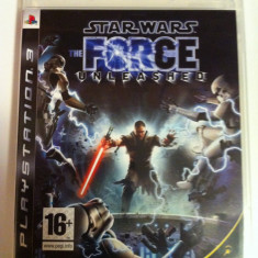 Vand Jocuri PS3 Ubisoft, playstation 3, aventura, actiune, sport, horror, STAR WARS THE FORCE UNLEASHED, 16+, Single player