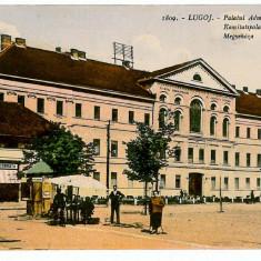 2175 - Timis, LUGOJ, Hall, boutiques, stalls - old postcard - unused - Carte Postala Banat 1904-1918, Necirculata, Printata