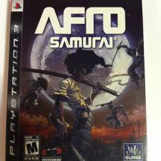 Vand Jocuri PS3 Ubisoft, playstation 3, aventura, actiune, sport, horror, AFRO SAMURAI, 16+, Single player