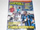 Revista fotbal GUERIN SPORTIVO (Italia) 14-20.09.2004