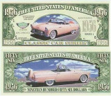 USA 1956 Dollars Thunderbird UNC