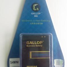 Baterie GALLOP 1900 mAh Samsung Galaxy S4 mini + folie protectie, Li-ion