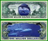 USA 1 Million Dollars Delfin UNC