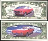 USA 1965 Dollars Mustang UNC