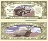 USA 1961 Dollars Corvette UNC