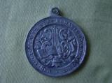 """Medalie """"Romania Recunoscatoare Marelui Poet Alexandri (Alecsandri)"""" - 1906"""